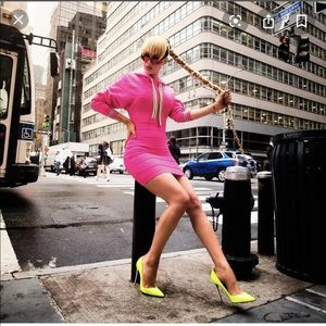 Authentic HerveLeger Paris Bandage Hoodie Dress